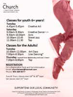 Dance & Art Classes for Youth & Adults