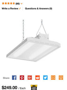 hanging lights for a basement or garage