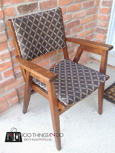 Wood office chair London Ontario image 1