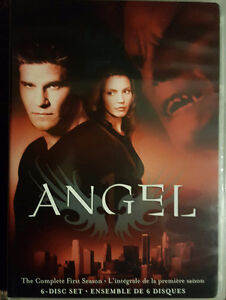 Selling Angel Seasons 1-5 on DVD