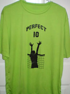 The Perfect 10 Ladies Volleyball Dry Wicking T Shirt