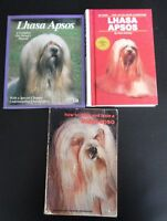 3 books for raising & training lhasa apso dogs