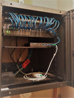 Data and Voice CAT6/CAT6A wiring
