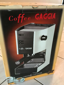 Gaggia 37002 Coffee and Espresso Machine