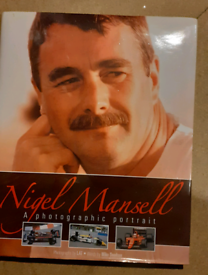 Nigel Mansell book