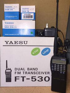 Yaesu Dual Band FM Transceiver   FT-530