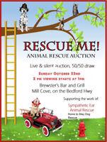 Sympathetic Ear Animal Rescue Auction, Sun Oct 22 Bedford