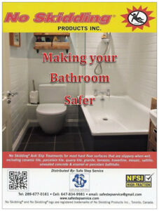 Bathtub Anti Slip - Non Slip - Service $34.99