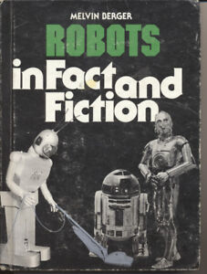 Vintage Robot Book from 1980.