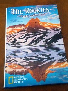 The Rockies, Pillars of a Continent, National Geographic Society Kitchener / Waterloo Kitchener Area image 1