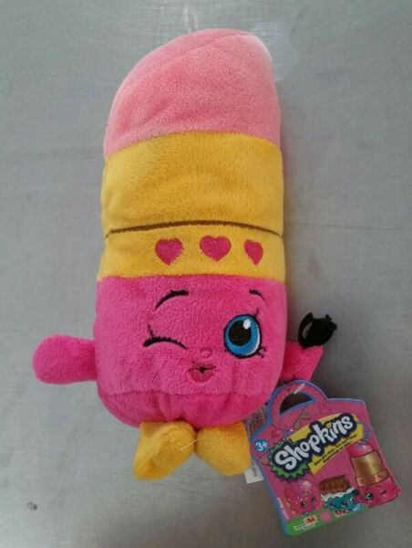 Shopkins lippy lipstick lip plushie soft toy children kid