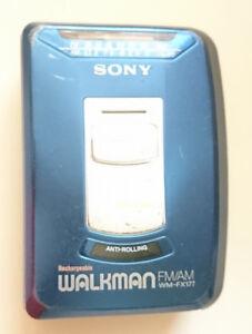 Sony Walkman Cassette FM/AM WM-FX177 - ANTI-ROLLING