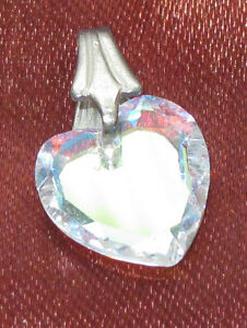 CRYSTAL HEART PENDANT - CHARM West Island Greater Montréal image 1