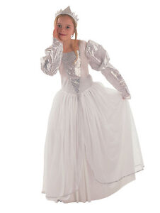 New-childs-girls-white-princess-bride-book-week-costume-age-4-5-6-7-8-9-10-yr