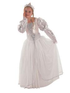 New-childs-girls-white-princess-bride-book-week-costume-age-4-5-6-7-8-9-10-yr
