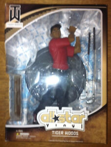 Tiger Woods Collectible Figure by All-Star Vinyl (NEW, Sealed)