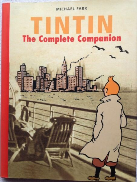 Tintin the complete companion michael farr hardcover other tintin the complete companion michael farr hardcover fandeluxe Images