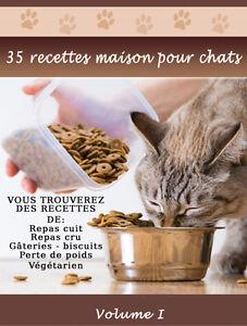 Livre de 30 recettes maison pour CHAT ** GRATUIT **