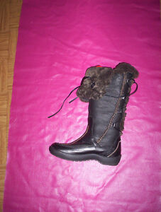 womens leather ..winter Blondo 7/8 cowboy boots riding Martino