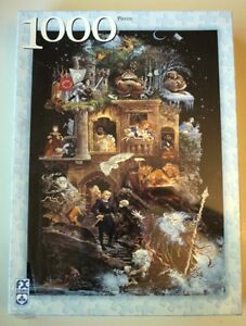PUZZLE 1000 Pcs. L'AFFICHE SHAKESPEARE COMME NEUF TAXES INCLUSES