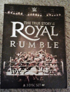 The True Story Of The Royal Rumble 3 Disc Set