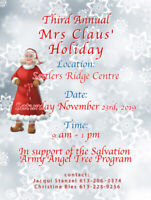 Mrs Claus Holiday Market