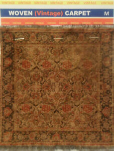 "Miniature Carpets (Vintage) Medium Size 6"" X 10"") Free Shipping"
