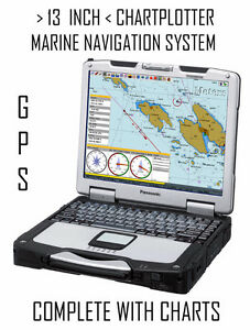 13 INCH EAST COAST NAVIGATION SYSTEM + CHARTPLOTTER + GPS