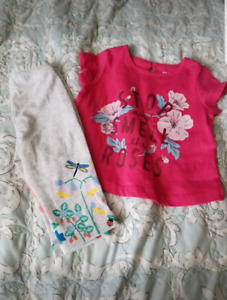 Bnwt 3-6 baby girl outfit