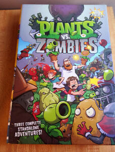 New!! Still in wrap!! Plants vs zombies gift set