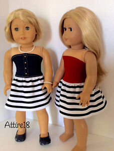 18 inch doll dress will fit American Girl or similar St. John's Newfoundland image 6