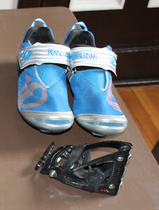 TRI Triathlon PACKAGE Shoes XXX rear mount CARBON SOULIERS