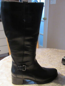 New leather winter boots