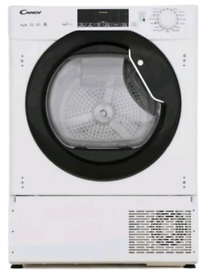 candy integrated condenser dryer 7kg capacity
