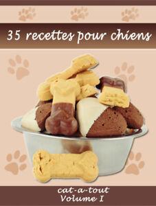 Livre GRATUIT de 35 recettes maisons pour chien