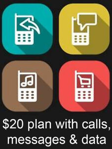 Best Cheap $20 Cell Phone Plan with Calls, Messages and LTE Data