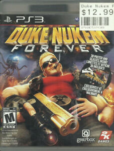 PS3 Duke Nukem ForeverSony PS3 game with game , case and manual