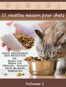 Livre PDF GRATUIT de 30 recettes maisons pour chat