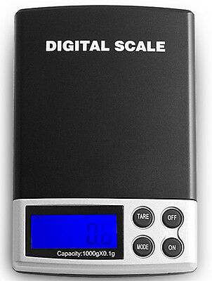 mini Jewelry Digital Scale 1000g x 0.1g for powder gems food herbs gold silver