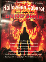 Halloween Cabaret featuring the band GONG SHOW