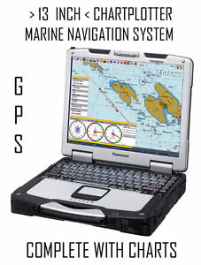 13 INCH GREAT LAKES NAVIGATION TOUGHBOOK + CHARTPLOTTER + GPS