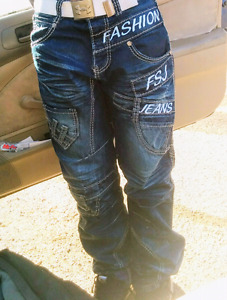 """Jeans """"Fuckee""""Gr30 unisexe/Manteau SKI XL Hiver/ North FAcE Smal"""