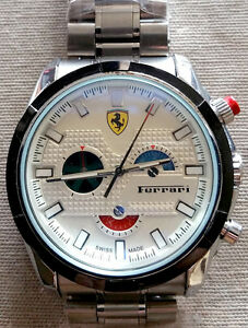 White Ferrari Automatic Hand watch for mens London Ontario image 2