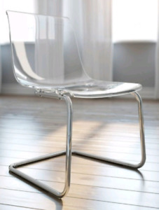 Ghost transparent chairs