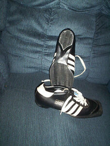 vintage ADIDAS cross X country ski boots shoes size 8.5 ...3 pin