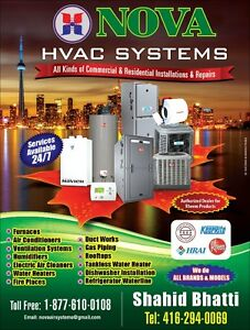 Heating, Ventilation and Air Conditioning Services in