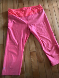 Ladies size medium UA capris