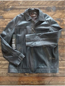 Brand New Leather Jacket and Spray