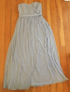 Ice Blue Bridesmaid Gown