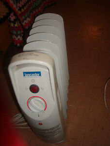 small Lancaster oil filled heater VG working  $8.00 can deliver